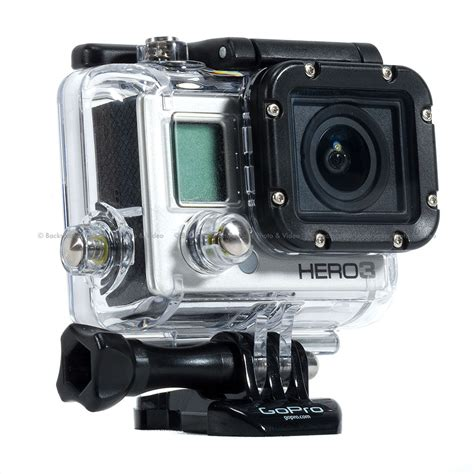 Gopro 3 Silver Second Gopro Hero3 Silver Edition Backscatter