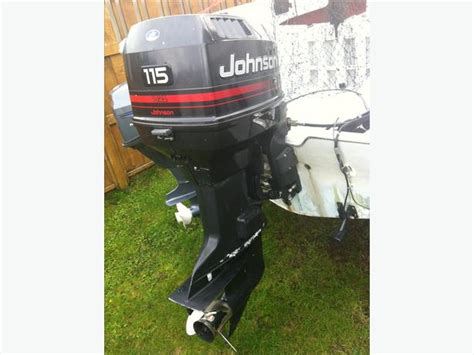 used outboard motors cbell river 1994 115hp johnson outboard motor cbell river cbell