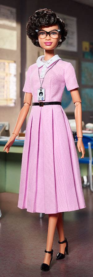 katherine johnson barbie for sale nasas new barbie