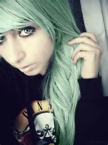 mint green hair color 15 awesome green hairstyles color inspiration strayhair