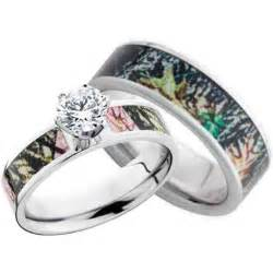 Camo Wedding Ring Sets For Women   Wedding and Bridal