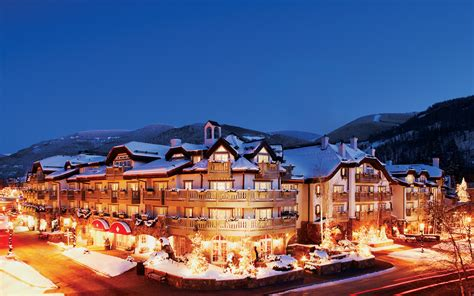 best ski hotel america s best ski hotels travel leisure