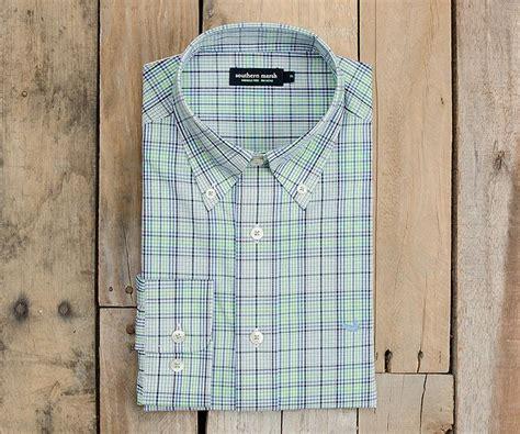 Plaid Wringkle Dress southern marsh collection sutton plaid dress shirt