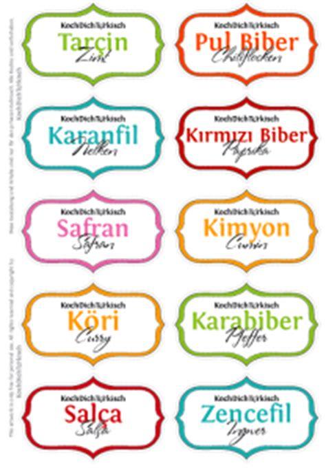 Etiketten Design Vorlage T 252 Rkische Gew 252 Rzgl 228 Ser Etiketten Vorlage