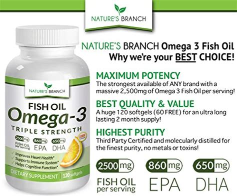 best omega 3 supplement brand best strength omega 3 fish supplements 2 500mg
