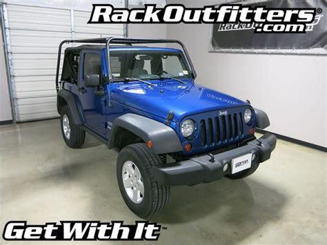 Roof Rack For Jeep Wrangler Top Jeep Wrangler 2 Door Jk Garvin Wilderness Adventure Soft