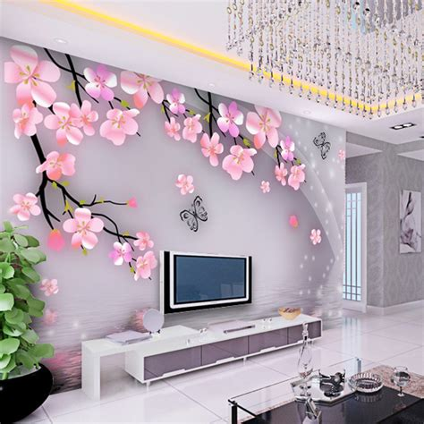 wallpaper 3d korea korean custom living room study bedroom non woven fabric