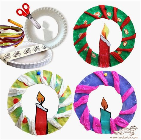 paper plate wreath crafts diy paper plate crafts on 57 pins