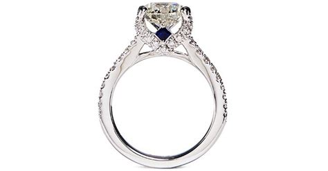 Vera Wang Engagement Rings On Sale by Vera Wang Boutique Engagement Ring In Silver