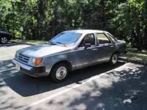 1984 Ford Tempo 1984 Ford Tempo Glx Sedan 4 Door 2 0l Diesel 4 Dr Glx