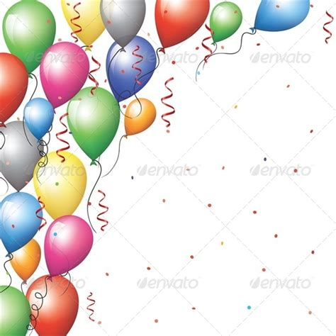 balloon border template free balloon border by prikhnenko graphicriver