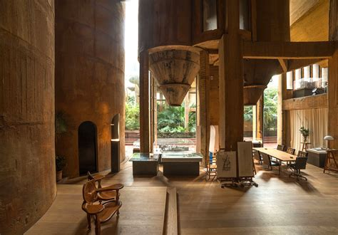 ricardo bofill architect turns old cement factory into incredible