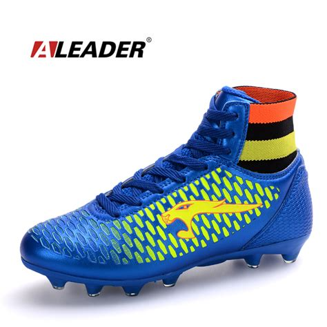 football shoes store aliexpress buy leather mens soccer boots 2016