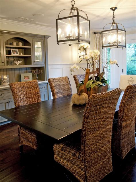 coastal dining room sets photos hgtv