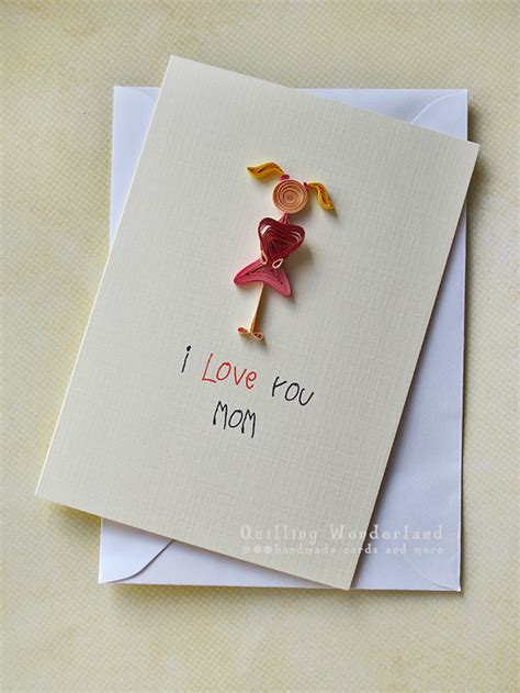 paper daisy cards quilled mother s day card 7 best photos of quilled mother s day card birthday card