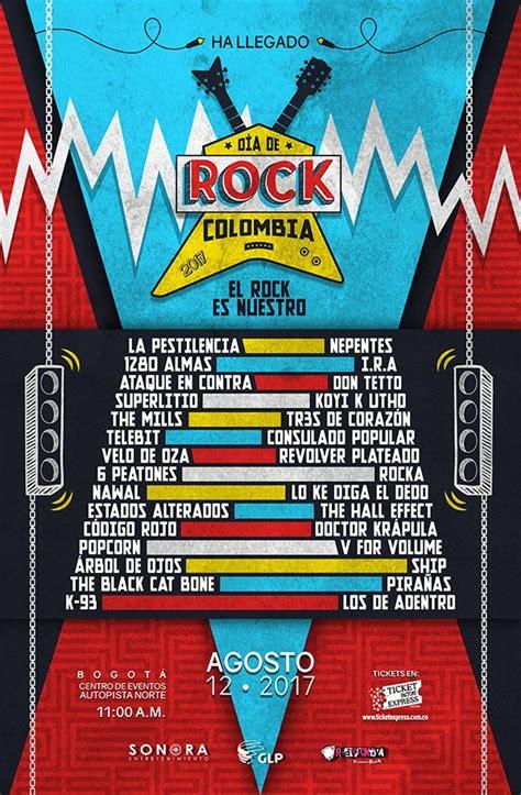 mirador torre colpatria horarios 2018 cartel de bandas festival d 237 a de rock colombia 2017