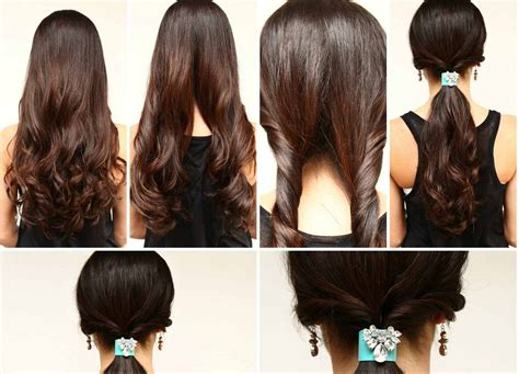 quick and easy hairstyles at home latest hairstyles for stylish girls 2015 16