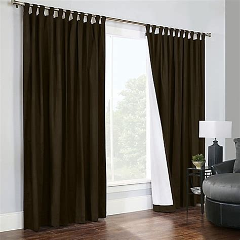 curtains double width buy thermalogic 174 weathermate 84 inch double width tab top