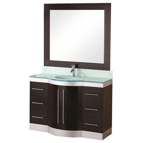 design elements vanity home depot design element jade 48 in w x 22 in d vanity in espresso