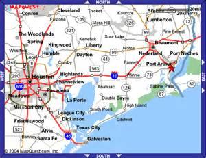 map of port arthur maps to 3731 lake shore drive