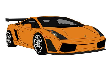 Lamborghini Gallardo Drawings Lamborghini Gallardo Vector By Dafrenchbrony On Deviantart