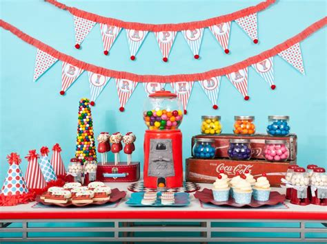 how to decorate a birthday party at home diy favors and decorations for kids birthday parties hgtv