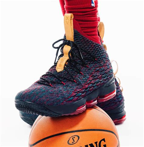 Nike Lebron 15 this is the nike lebron 15 colorway lebron wore for media day kicksonfire