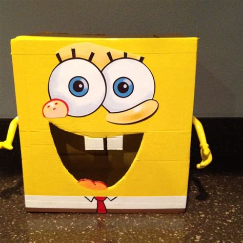 spongebob box sponge bob box crafting science w