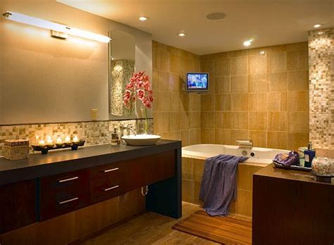 bathroom tv ideas 12 beautiful bathroom lighting ideas