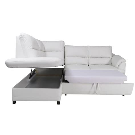 Modern Leather Sofa Beds Gustavo Modern Leather Corner Sofa Bed Sofas Home Furniture