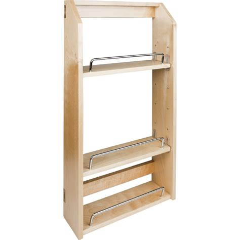 spice racks for cabinets spr12a adjustable spice rack for 18 quot wall cabinet