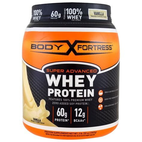 L Advanced Whey Protein Fortress Advanced Whey Protein Powder Vanilla