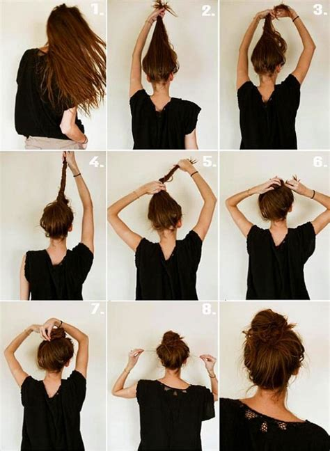 quick and easy hairstyles instructions 17 quick and easy diy hairstyle tutorials easy diy