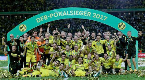 dfb pokal finale wann dfb pokal finale dortmund siegt 2 1 gegen frankfurt