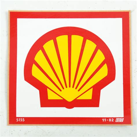 Shell Oil Gift Card - vintage 1970s shell oil gas station stickers decals logo pecten nos ebay