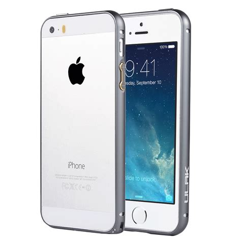Iphone 5 5s Bumper Ultrathin Casing Cover ultra thin aluminum metal slim bumper cover skin for apple iphone se 5 5s ebay