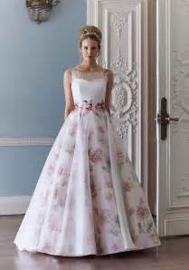 Floral wedding dress by sassi holford