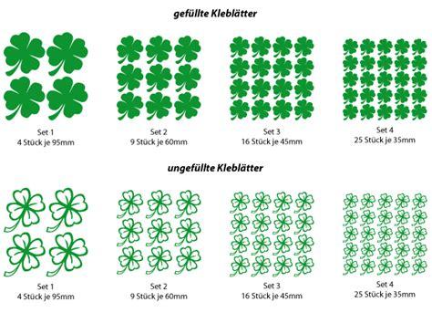 Kleeblatt Tattoo Zum Aufkleber by Kleeblatt Wandtattoo Aufkleber Versch Farben Gr 246 223 En Ebay