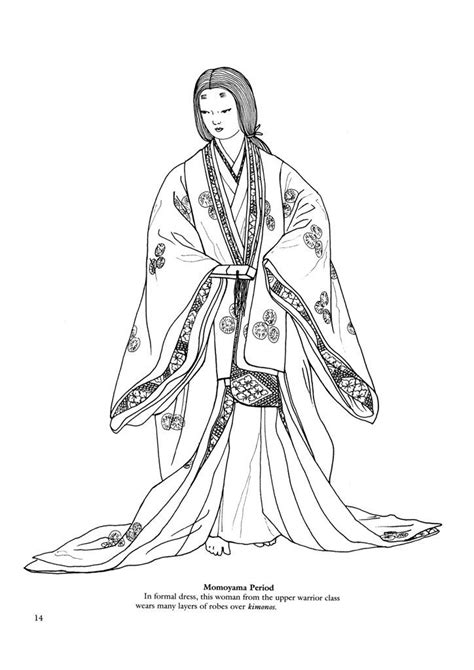 japanese zero coloring page japanese fashions 13 japanese fashions kids printables