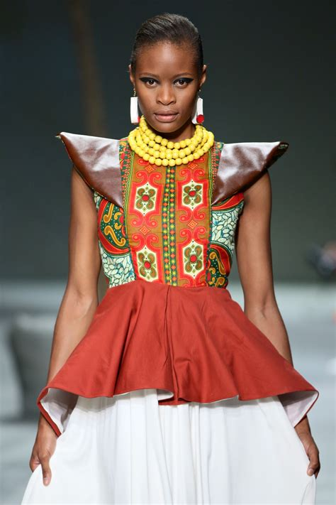 zulu design clothes hottest trends at safw day 2 grazia south africa