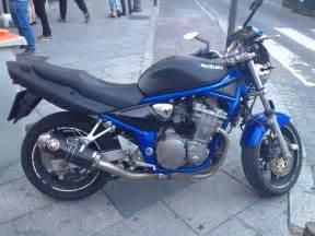 2001 Suzuki Bandit 600 2001 Suzuki Bandit 600 N Black Matte Blue Chassis Cafe
