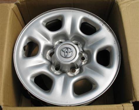 Oem Toyota Wheels Toyota 4runner Or Tundra Oem Steel Wheels 4 Toyota