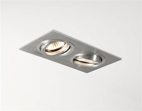 Modern Ceiling Lights For Dining Room astro taro twin adjustable gu10 mains ceiling downlights