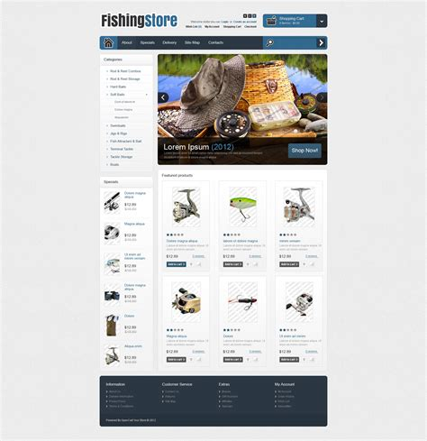 opencart free templates 30 best opencart themes and templates free premium
