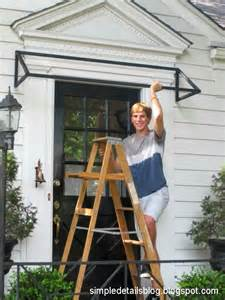 simple details diy awning tutorial