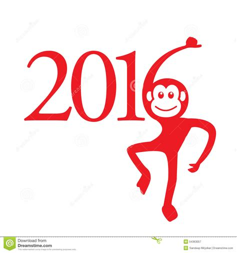 new year monkey free image calendar 2016 year of the monkey zodiac sign