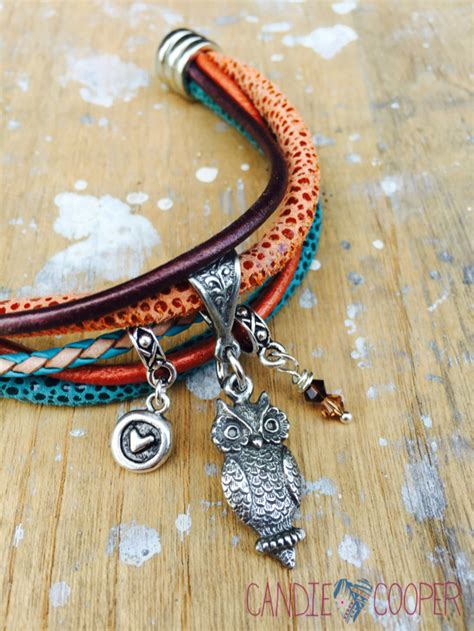 This and That: DIY Scrappy Multi strand Leather Bracelets   Candie Cooper