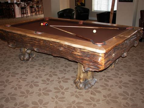 Hand Made Custom Billiard Tables By Roaring Fork Custom Unique Pool Tables