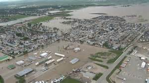 map of high river alberta canada alberta could reduced flood damage critics say