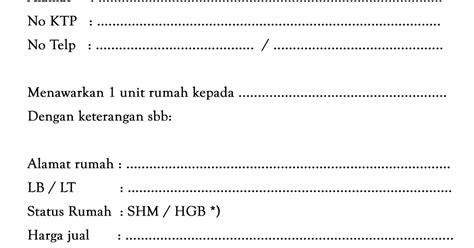 formulir aplikasi bni griya dan surat pesanan rumah kpr bni s